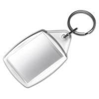 Schlüsselanhänger ohne Foto